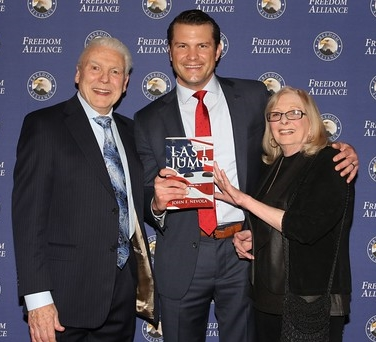 author and pete hegseth